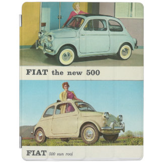 Vintage car Ipad cover | Fiat 500 | Italian