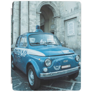 Vintage car Ipad cover | Fiat 500 | Police car