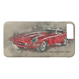 Vintage car iPhone case. iPhone 4S,5S,6S/6+ &7/7+ iPhone 8 Plus/7 Plus Case