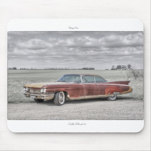 Vintage Car Mousepad: Cadillac ElDorado '60