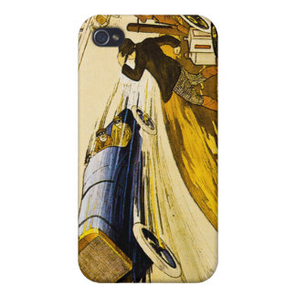 Vintage Car Race iPhone 4 Covers