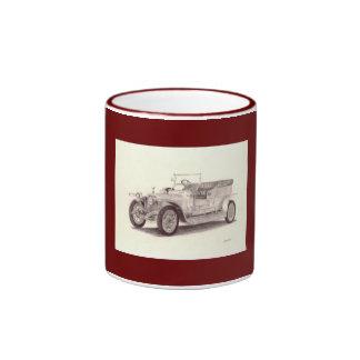 Vintage Car: Rolls Royce Silver Ghost Ringer Mug