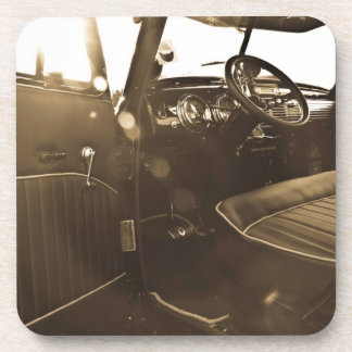 Vintage Car Set of 6 Coasters
