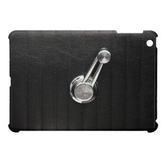 Vintage car window crank iPad mini cover
