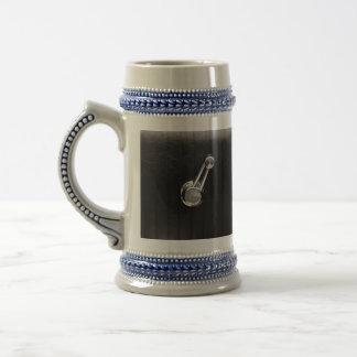 Vintage car window crank mug
