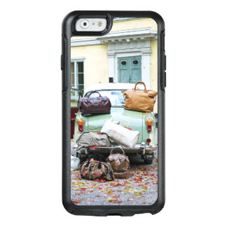 Vintage car with lots of luggage OtterBox iPhone 6/6s case