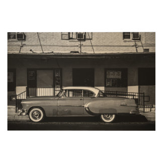 Vintage Car Wood Canvases