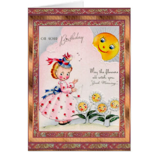 Vintage Card Birthday