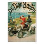 Vintage card De dion Bouton