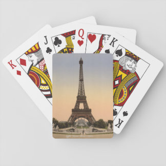Vintage cards, Eiffel Tower Paris France c1905 Playing Cards
