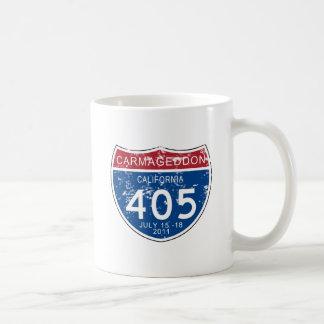 VINTAGE Carmageddon Worn Look Mug