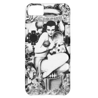 Vintage Carnival and freak show illustration. iPhone 5C Case