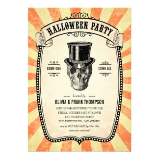 Browse the HAlloween Invitation Collection and personalise by colour, design or style.