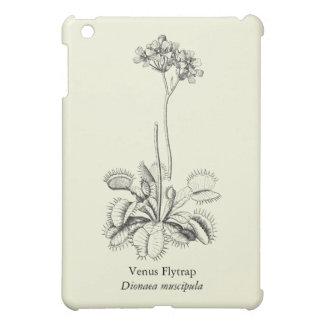 Vintage Carnivorous Venus Flytrap with Flowers Case For The iPad Mini