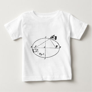 Vintage Carpentry Illustration - Geometric Baby T-Shirt
