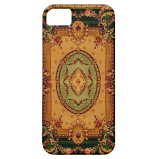 Vintage Carpet Patterns: Axminster 3421 iPhone 5 Cases