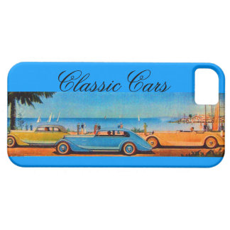 VINTAGE CARS BARELY THERE iPhone 5 CASE