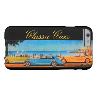 VINTAGE CARS BARELY THERE iPhone 6 CASE