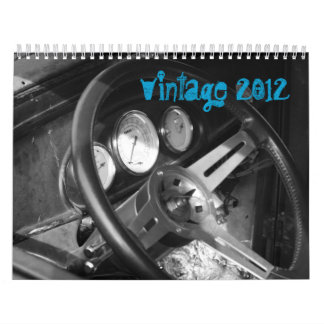 Vintage Cars Calendars