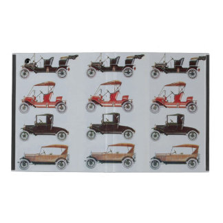 VINTAGE CARS CASE FOR iPad