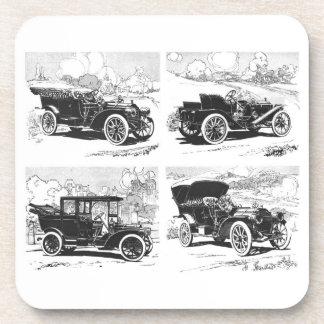 Vintage cars coasters