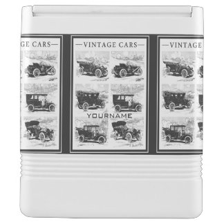 Vintage cars custom coolers igloo cooler