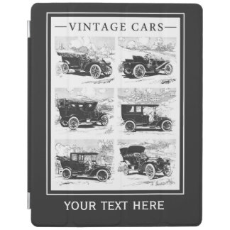 Vintage cars custom device covers iPad cover