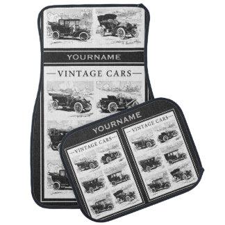 Vintage cars custom floor mats