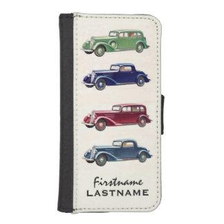 Vintage cars custom wallet cases