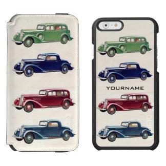 Vintage cars custom wallet cases incipio watson™ iPhone 6 wallet case