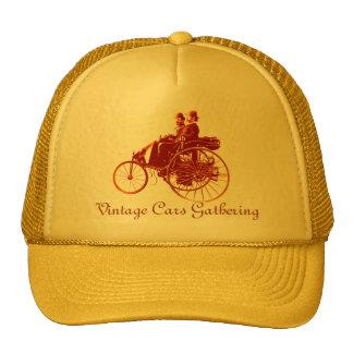 Vintage Cars Gathering , brown Cap