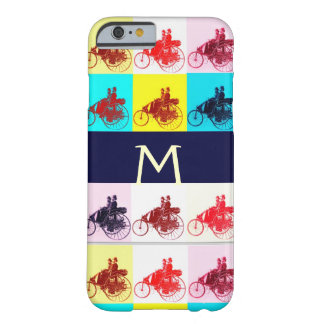 VINTAGE CARS GATHERING POP ART MONOGRAM BARELY THERE iPhone 6 CASE