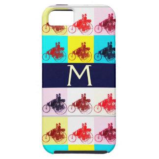 VINTAGE CARS GATHERING POP ART MONOGRAM iPhone 5 CASE