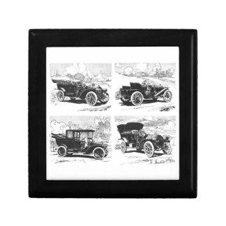 Vintage cars gift / trinket box
