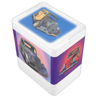 VINTAGE CARS IGLOO COOLER