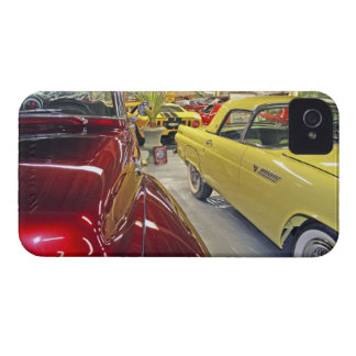 Vintage cars in Tallahassee Automobile Museum iPhone 4 Covers
