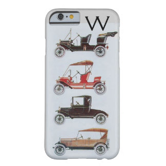 VINTAGE CARS  MONOGRAM BARELY THERE iPhone 6 CASE