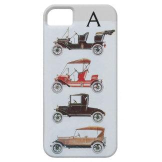 VINTAGE CARS MONOGRAM iPhone 5 COVERS
