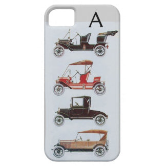 VINTAGE CARS  MONOGRAM iPhone 5 COVER