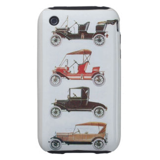 VINTAGE CARS  MONOGRAM TOUGH iPhone 3 COVERS