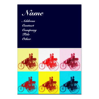 VINTAGE CARS POP ART / AUTO REPAIR AUTOMOTIVE PACK OF CHUBBY BUSINESS CARDS