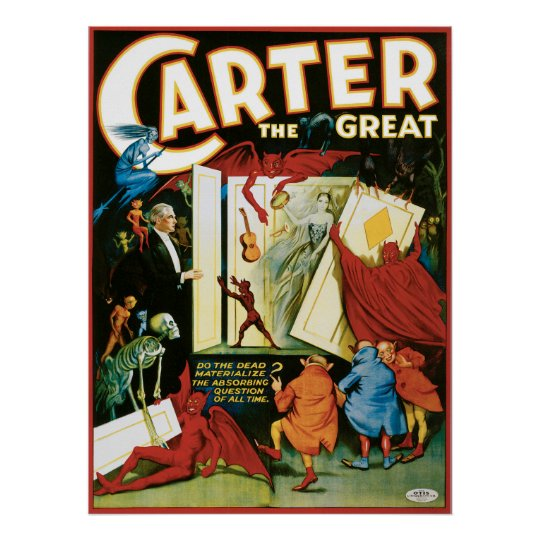 Vintage Carter the Great, Do the Dead materalize?