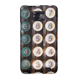Vintage Cashier Machine Galaxy SII Covers