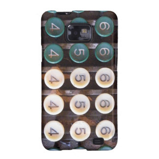Vintage Cashier Machine Samsung Galaxy S2 Covers