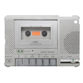 Vintage Cassette Recorder Cover For The iPad Mini