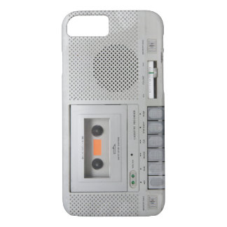 Vintage Cassette Recorder iPhone 8/7 Case