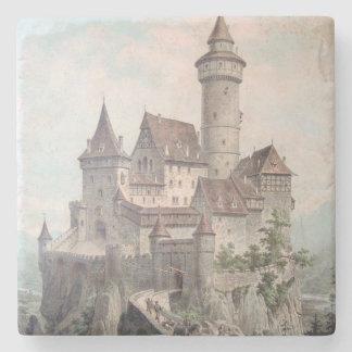 Vintage Castle Art Stone Coaster