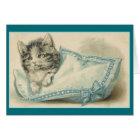 Vintage Cat Note Card