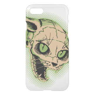 Vintage Cat Skull iPhone 7 Case