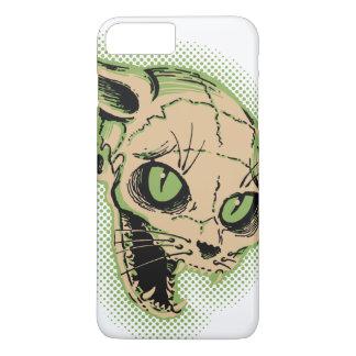 Vintage Cat Skull iPhone 7 Plus Case